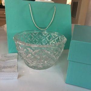 """Brand New Tiffany & Co. 9"""" Bamboo Bowl"""